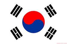 """SOUTH KOREA 18"""" X 12"""" FLAG boats treehouses caravans clubs Korean"""