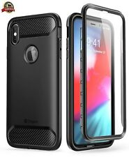 iPhone XS Max Case, Clayco [Xenon Series] Full-body Rugged Case with Built-in Sc