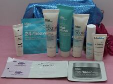 BLISS POWERFUL SKIN CARE SET OF 8 TRAVEL SIZE SEE DETAILS! WITH 2 SAMPLE GIFT!
