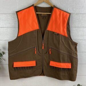Gamehide Hunter's vest Front-Loader Canvas Duck Hunting Vest Size XL NWT Field