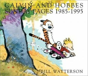 Calvin and Hobbes Sunday Pages: 1985-1995 by Watterson, Bill Paperback Book The