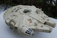 VINTAGE STAR WARS COMPLETE MILLENNIUM FALCON VEHICLE KENNER WORKS!
