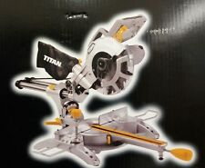 Titan TTB598MSW 210mm Single Bevel Sliding Mitre Saw 240V NEW