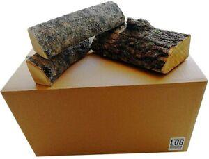 35 Litre Box of Kiln Dried Ash Logs-25cm Length, Best Firewood Hardwood Logs