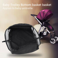 Universal Baby Pram Basket Stroller Pushchair Storage Bag Organizer Buggy Net 30