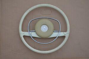 Mercedes Steering Wheel W108 W109 W111 W113 W114 Pagoda Ivory 250 280 300 SL SE