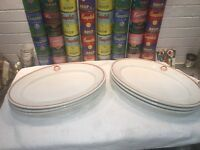 6 Syracuse China Restaurant Platters G.C.C. 1927 Greenville Brookside Country Cl