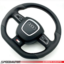 S-LINE Tuning Flattened Black Steering Audi A4,8E,8K Multifun. With Airbag
