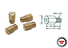 Motorcycle Scooter Carburetor Mikuni Hex Brass Main Jet - All Sizes Available