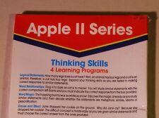 Thinking Skills for Apple II Plus, Apple IIe, Apple IIC, Apple IIGS - NEW