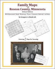 Family Maps Roseau County Minnesota Genealogy MN Plat