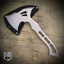 """New listing 10"""" Full Tang Tomahawk Throwing Axe Hatchet Camping Hiking Stainless Steel Axe"""