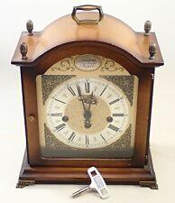 Vintage Bulova Westminster Chime Mantel Shelf Clock Parts Repair