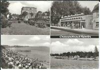 Ansichtskarte Ostseebad Rerik/Bad Doberan - Einkaufsquelle, Strandpartie - s/w