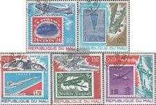Mali 666-670 (complete issue) used 1978 History the Aviation