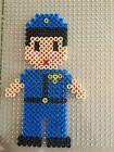 Perler Bead Handmade Nurse, Police Officer, Firefighter, scrubs, police car, etc