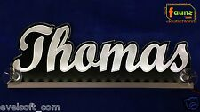 "LED LKW Truck Leuchtschild ""Thomas"" Ihr Wunschname 12 o. 24V warmweiß ©faunz"