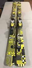 Atomic Deviant Twin-Tip / Freestyle Skis - 175cm Rossignol Bindings Used