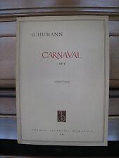 Robert Schumann, Carnaval Op. 9  K 41-Klavier-Noten - Antiquarisch von H. Eimert