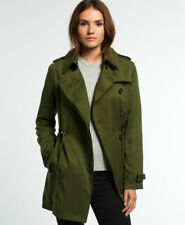 Superdry Womens Winter Draped Trench Coat