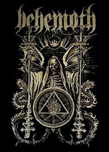 BEHEMOTH cd lgo CEREMONIAL Official Black SHIRT Size LRG new
