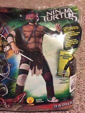 Halloween Costume Boys Raphael Teenage Mutant Ninja Turtles Small 3-4 Years Old