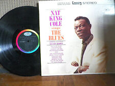 NAT KING COLE- SINGS THE BLUES- SW 1929- VINYL RECORD- VG+