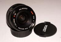 Rare WW-Macro Wide Angle MC Porst X-M 28 mm F2.8 2.8/28 lens Fujica mount