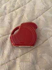 Fiesta®️SCARLET Red Mini Disc Disk Pitcher / Creamer 5oz 1st Quality HLC