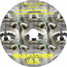 CD GAME CALL, RACCOON HUNTING, RACCOON CALLS, COON/FOX FIGHT, DISTRESS, & COAXER