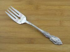 "Oneida Wordsworth Cold Meat Fork 8 1/2"" EXC Stainless Flatware Silverware"