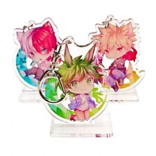 Anime My Boku no Hero Academia Midoriya Izuku Cos Keychain Pendant Stand Figure