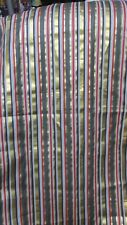 """New listing """"'Dark Gray, Gray, Gold And Red"""""""" - Fabric Piece - Fun & Bold Accent"""