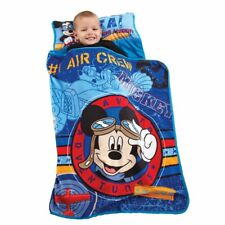 Disney Mickey's Toddler Rolled Nap Mat, Flight Academy - See Details