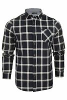 Mens Brave Soul 'Mendel' Check Shirt - Long Sleeved