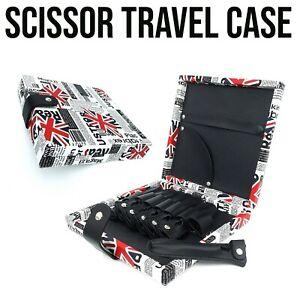 Barber/Hairdresser Scissor & Accessory Travel Case W/ Removable Scissor Pouches
