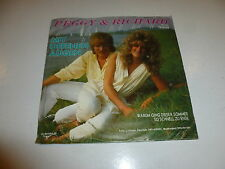 """PEGGY & RICHARD - Mit Offenen Augen - 1986 Dutch 7"""" Juke Box Vinyl Single"""