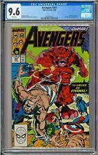 Avengers #307 CGC 9.6 White Mister Fantastic Invisible Woman app John Byrne