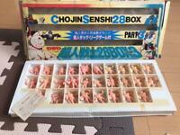 Vintage Bandai Kinnikuman Chojin Senshi 28 Box Figures Kin keshi Mattel Muscle