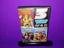 Shrek/Shrek 2/Shrek The Third Spanish Language Dvd Region 1 B454