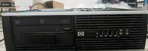 HP Compaq Elite 8000 SFF Intel Core 2 Quad Core 4GB Windows XP 32BIT 2 Serial
