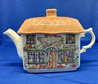 Sadler Ceramic Teapot English House: Ye Olde Tea Pot Inn Rare  ~Made in England