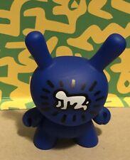 "New Kidrobot KEITH HARING Dunny 3"" * BLUE Radiant Baby* 3/20Pop Art Graffiti"