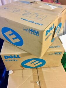 """Computer Dell 15"""" monitors (2 available )Ideal Small Space /Home Worker"""