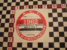 Imposta ITALIANO DISCO 1962-FIAT 500 600 126 LANCIA BETA GIULIETTA ALFA GTV6 ABARTH