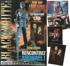 Michael Jackson Black & White Nr 14 French FR Magazine Fanzine Poster Posters