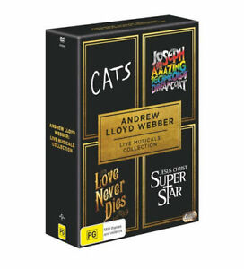 NEW Andrew Lloyd Webber Live Musicals Collection (Cats / Joseph and the Amazing