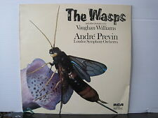 RCA SB6868 The Wasps VAUGHAN WILLIAMS Andre Previn LSO VINYL LP Free UK Post