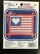 Cross Stitch Pattern: Stars and Stripes Flag (Pattern Only) New Berlin