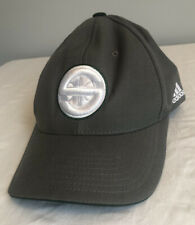Seattle Supersonics NBA Snapback Hat Cap Gray w/ White Logo One Size Adidas New